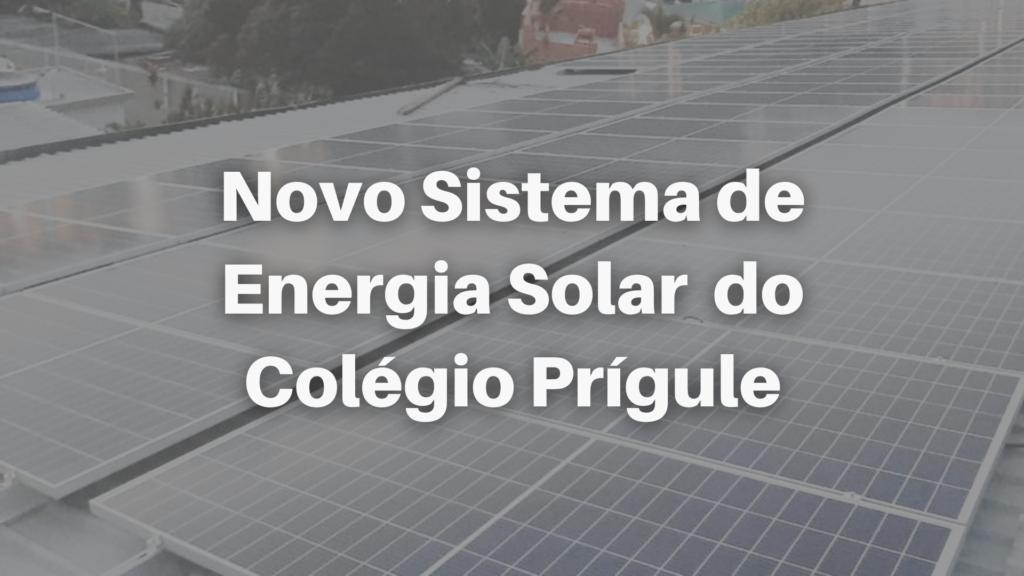Placas de energia solar prígule